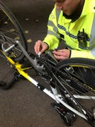 Avon and Somerset Police bicycle marking events