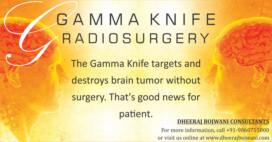 The most effective treatment - Gamma Knife Radiosugrery