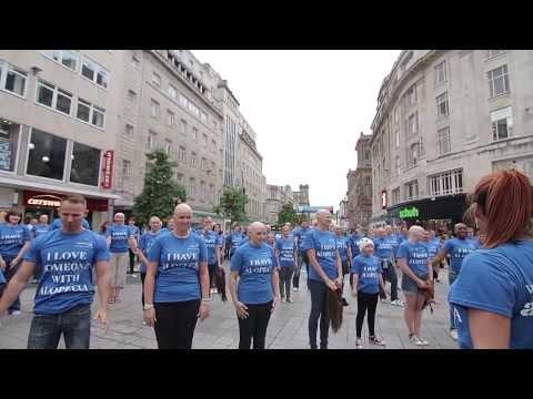 Liverpool Alopecia Flashmob!