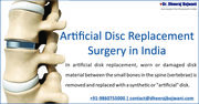Artificial Disc Replacement Surgery with Top Surgeon in India