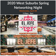 2020 West Suburbs Spring Networking Night