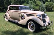 1935 Auburn Phaeton 8-851 Custom Salon