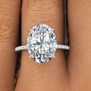 Oval Engagement Rings Houston