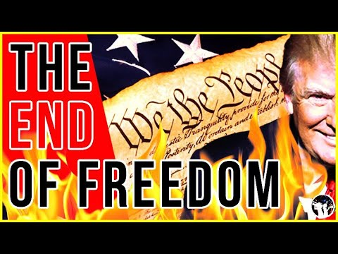 We Are Seeing The End of The Constitution And Capitalism!