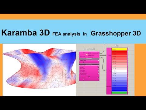 Karamba 3D - FEA Form Finding