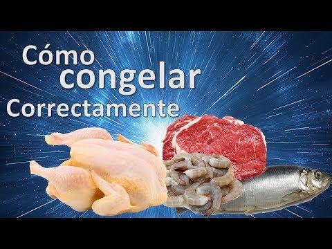 Cómo congelar carne, aves, mariscos, pescado u otras proteínas animales correctamente