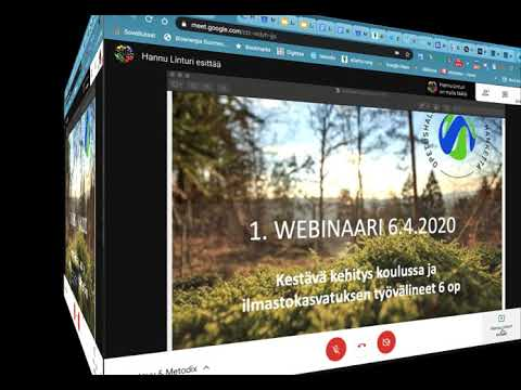 Google Meet-webinaari