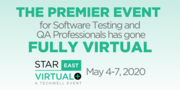STAREAST Virtual+ — Software Testing Conference Streaming Live