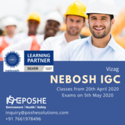 Nebosh course in Vizag