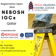 Nebosh course in Qatar