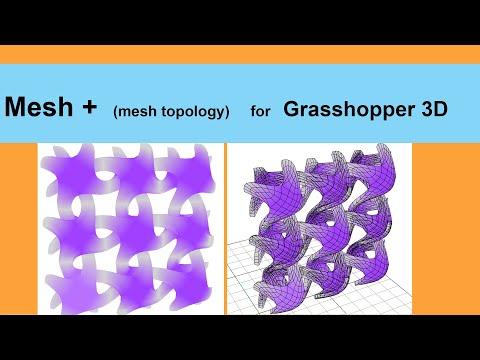 Mesh+ for Grasshopper 3D