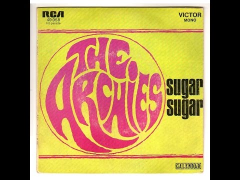 Sugar Sugar - The Archies (Lyrics)