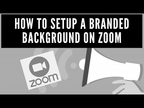 Virtual Backgrounds For Zoom - How To Setup And Create A Branded Background