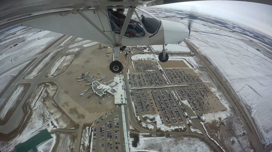 View from the STOL CH 750: February 2020