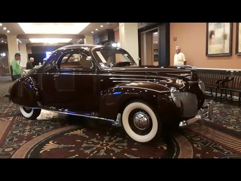1939 Lincoln-Zephyr Coupe, Ex-Streamliner For Two At the 2018 RM Sotheby's, Hershey
