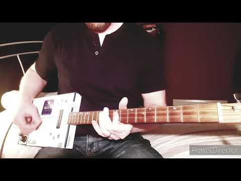 This Is Yesterday - Manic Street Preachers - Cigar Box Guitar Cover