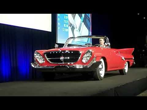1961 Chrysler 300G Converible, Big, Bold and Beautiful  2018 RM Sotheby's, Hershey
