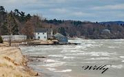 Epworth Heights Mi.- Lake Michigan cottages hanging on -Threatened by rising water
