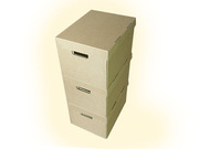 Strong A4 Archive Filing Storage Cardboard Boxes With Handles