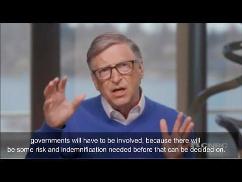 Here's why Bill Gates wants indemnity… Are you willing to take the risk?