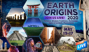 Earth Origins 2020 Live StreamIng Webinars May 11-17