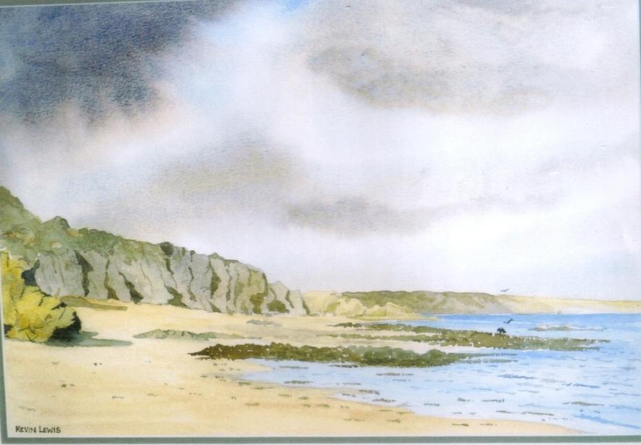 Baginbun Beach