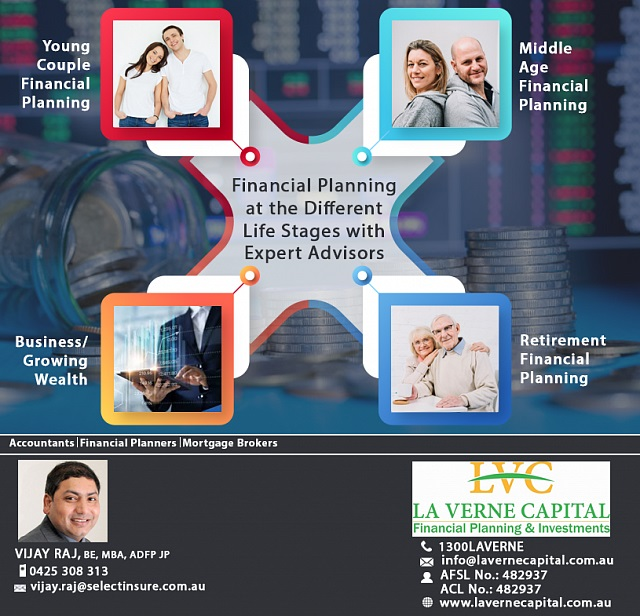 Financial Planning at the Different Life Stages with Expert Advisors