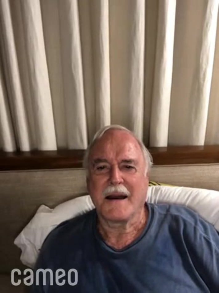 Monty Python star, John Cleese is open to debate if COSTA RICA'S CALL CENTER has the best boss.