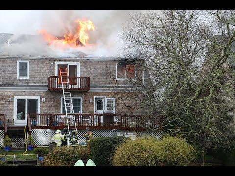 East Falmouth, MA House Fire