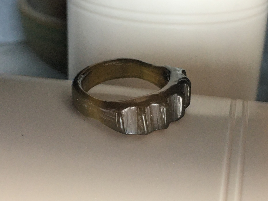 """Wax Carving """"Comfort"""" Ring"""