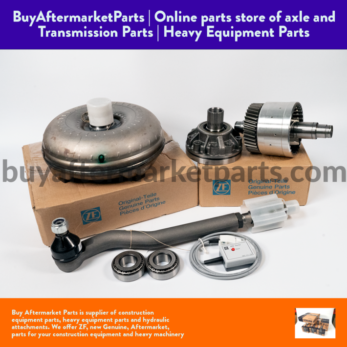 torque converters and transmission parts