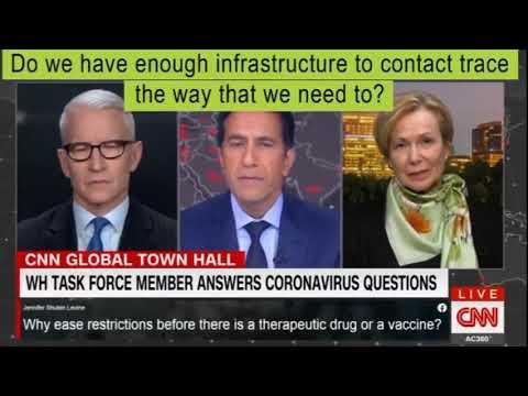 Freudian slip by Dr. Birx during CNN interview
