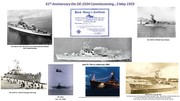 61st Anniversary the DE-1034 Commissioning…5 May 1959