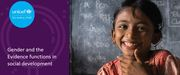 UNICEF Gender and Learning series webinar: Real Time Assessment and Evaluation of gender issues in humanitarian crises