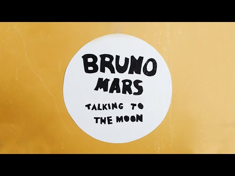 Bruno Mars - Talking to the Moon [Stop-Motion Video]