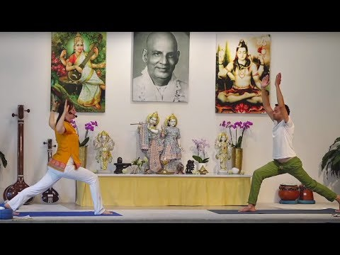 Intermediate Yoga Class in English 60 min - with Kaivalya  - Live 09:15 Uhr 07.05.2020