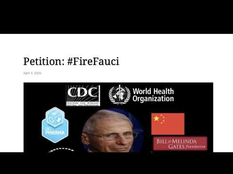 Dr.SHIVA LIVE: We are at War. #FireFauci.  End the Shutdown.