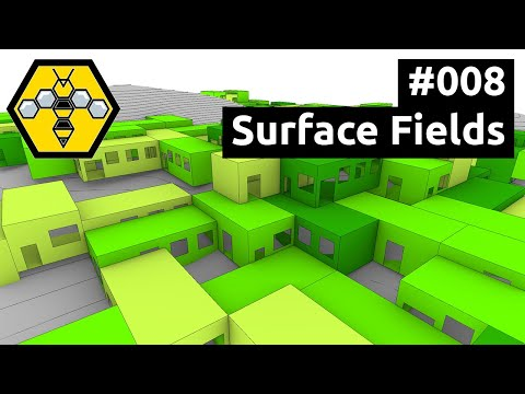 Wasp for Grasshopper #101 - Tutorial #008: Surface Fields