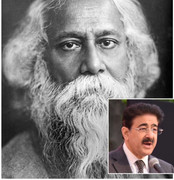 Chief Scout For India Sandeep Marwah Motivated Students on Rabindranath Tagore Birthday