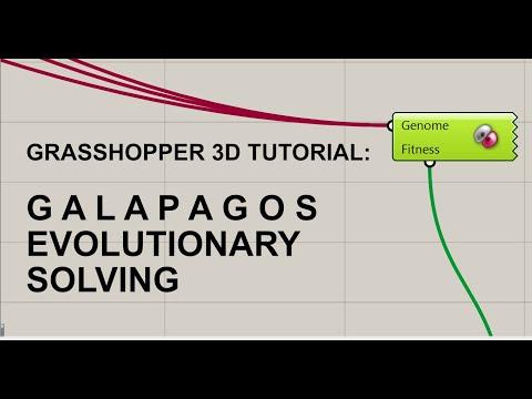 Grasshopper Generative Design Tutorial:  Galapagos - Evolutionary Solving