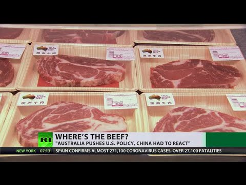 What connects China, US sanctions & Australian beef?