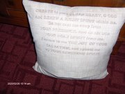 Antique Sewing machine pillow