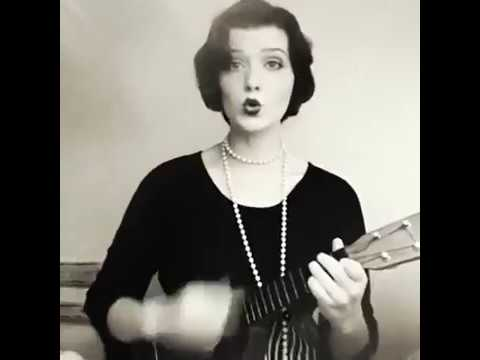 Five Foot Two Eyes Of Blue (Has Anybody Seen My Gal) 1920s ukulele version. -Faith Evangeline