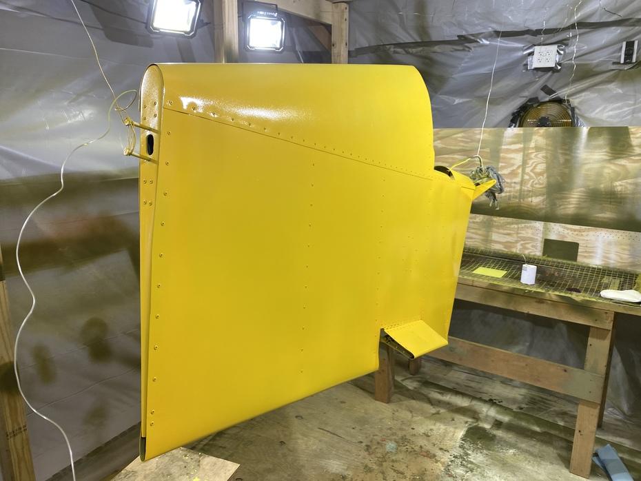 801 Rudder - Paint 1
