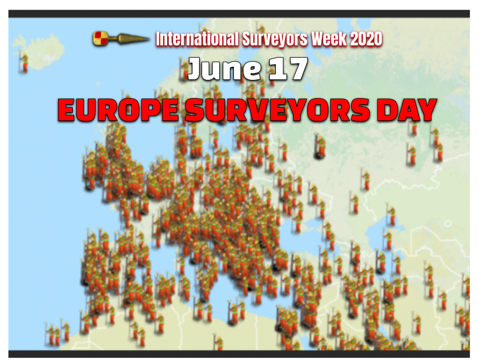 European Surveyors Day June 17th #ISW2020