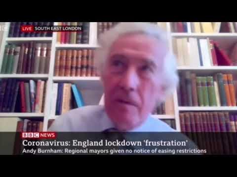 Lord Sumption Calls Out BBC Reporter on UK Lockdown BBC News