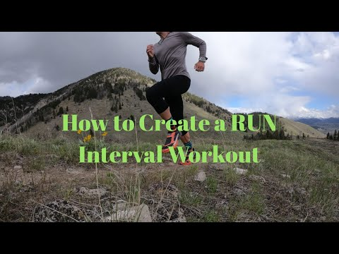 How to Create a RUN INTERVAL WORKOUT (+ Arc'teryx Norvan SL shoes)
