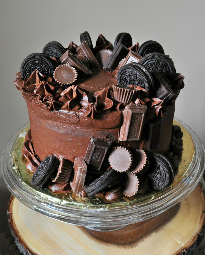 Cody's Chocolate Overload Cake