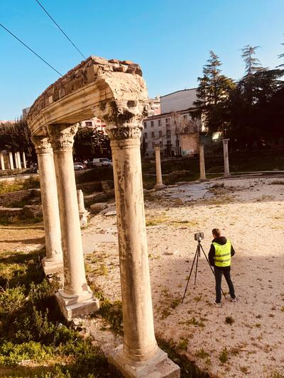 Archaeological Laser Scanning Albania