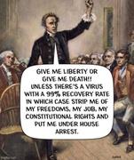 Said by no patriots ever